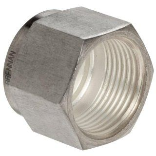 Brennan N0318 SS Series, Stainless Steel Double Ferrule Tube Fitting, Plug, Tube OD