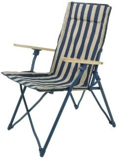 MAC Sports C102S B/W Beach Comber Deluxe Wooden Arm Chair (Discontinued by Manufacturer)  Lawn Chairs  Patio, Lawn & Garden