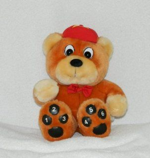"8"" Goldilocks and the Three Bears; Amos Talking Baby Bear Plush Stuffed Toy Toys & Games"