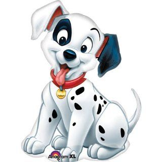 "Disney 101 Dalmatians Puppy Dog Shape 32"" Mylar Foil Balloon Toys & Games"