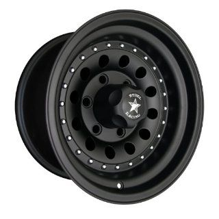 Rebel Racing Bandit II 15x8  19mm 5x5.5 107.95 Matte Black Wheel Automotive