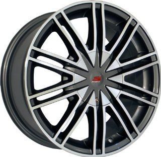 15x7 Sendel S07 (Silver Machined) Wheels/Rims 5x114.3/108 (S07 57003HSM) Automotive