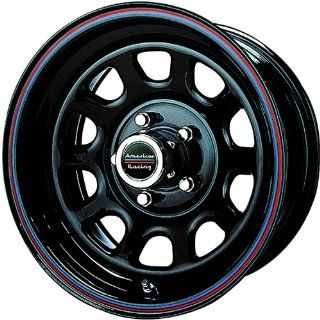 American Racing AR 767 15x10 Black Wheel / Rim 5x4.75 with a  37mm Offset and a 72.60 Hub Bore. Partnumber AR7675161 Automotive