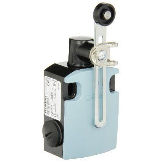 Siemens 3SE5 122 0CH50 International Limit Switch Complete Unit, Twist Lever, Adjustable Length, 56mm Metal Enclosure, Metal Lever, 19mm Plastic Roller, Snap Action Contacts, 1 NO + 1 NC Contacts Electronic Component Limit Switches Industrial & Scien
