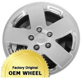 Jeep Wrangler 18X7.5 5 127 44.45Mm Offset 5 Spoke Factory Oem Wheel Rim   Machined Face Grey Finish   Remanufactured Automotive