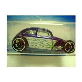 Hot Wheels Custom Volkswagen Beetle Purple #121 5/10 Heat Fleet (2009) Toys & Games