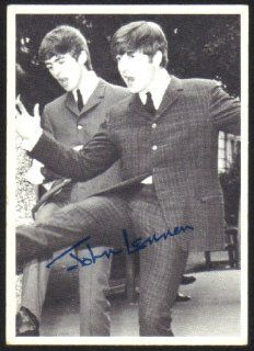 1964 Topps Beatles Black & White Trading Card 3rd Series #128