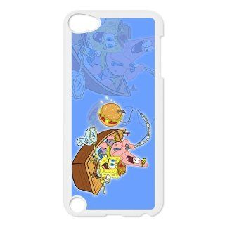 Personalized Music Case SpongeBob SquarePants iPod Touch 5th Case Durable Plastic Hard Case for Ipod Touch 5th Generation IT5SS129  Players & Accessories