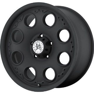 "American Outlaw Patrol Matte Black Wheel with Painted Finish (17x8.5""/5x127mm) Automotive"