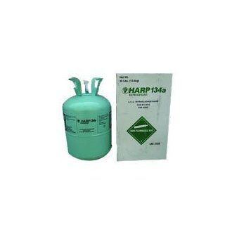 Harp R134a Refrigerant Gas 30lb Tank Automotive