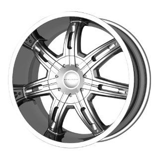 "KMC Wheels Surge KM6652 Chrome Finish Wheel (20x9""/5x139.7mm) Automotive"