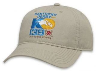 Kentucky Derby 139 Men's 2013 Kentucky Derby Logo Cap Stone One Size Clothing