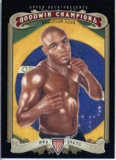 2012 Upper Deck Goodwin Champions Trading Card # 146 Anderson Silva  Sports Related Trading Cards  Sports & Outdoors