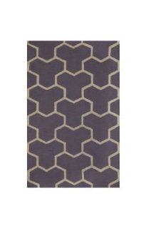 Safavieh CAM146D Cambridge Collection Handmade Wool Area Rug, 9 Feet by 12 Feet, Silver and Ivory   Area Rugs