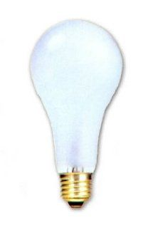 Incandescent Light Bulb, Long Life A 21, Long Neck, 20, 000 Hours, 150 Watt, Frosted   Rough Service Light Bulbs