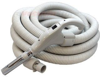 Electrolux 35 FT Standard Crushproof Central Vacuum Hose With Button Lock   Household Vacuum Hoses