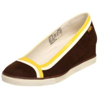 Sugar Women's Linkin Park Wedge Slip On,Brown,7.5 M US Shoes