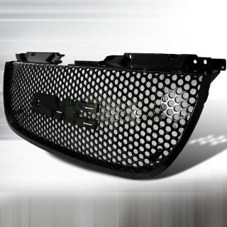 2007 2011 GMC Yukon Denali, 2007 2011 GMC Yukon Mesh Grill   Punch Hole Style Black Automotive