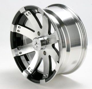 Vision Wheel Type 158 Buck Shot Rear Wheel   15x8   4+4 Offset   4/115   Machined , Wheel Rim Size 15x8, Rim Offset 4+4, Bolt Pattern 4/115, Color Machined, Position Rear 158158115BW4 Automotive