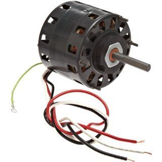 "Fasco D166 5"" Frame Open Ventilated Shaded Pole Direct Drive Blower Motor with Sleeve Bearing, 1/6 1/9HP, 1050rpm, 115V, 60Hz, 7.2 3.8 amps Electronic Component Motors"