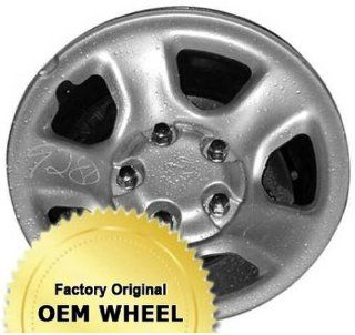 DODGE RAM 1500 17x8 5 SPOKE Factory Oem Wheel Rim  STEEL CHROME   Remanufactured Automotive