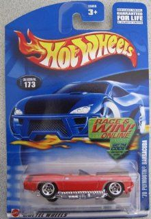 Hot Wheels 2002 '70 Plymouth Barracuda Convertible; Collector Car #173 Toys & Games