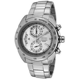 Seiko SNN177P Mens Chronograph Stainless Steel Watch Watches