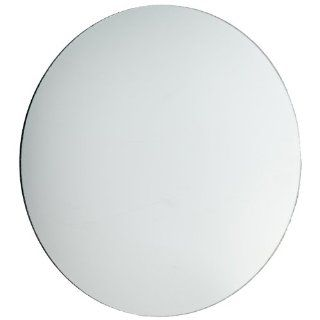 American Educational Concave Spherical Silver Backed Glass Mirror with Ground Edges, 7.5cm Diameter, 7cm Focal Length (Bundle of 5)