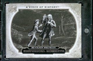 2008 Upper Deck (UD) A Piece of History # 181 Ben Franklin Discovers Electricity ( Historical Moment ) MLB Baseball Trading Card