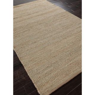 Jaipur Tropico Natural Solid Pattern Hemp/Chenille Woven Rug   Area Rugs