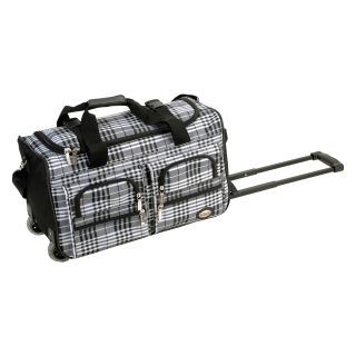 Rockland Luggage Cross 22 in. Rolling Duffel Bag   Luggage