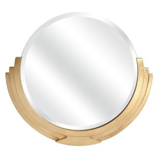 IMAX Glimmer Art Deco Wall Mirror   29.5H x 26.5W in.   Wall Mirrors