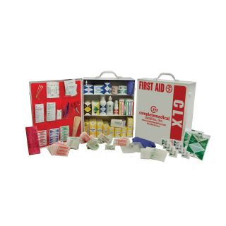 Complete Medical 100 150 Person First Aid Kit   38 Pieces   First Aid Kits