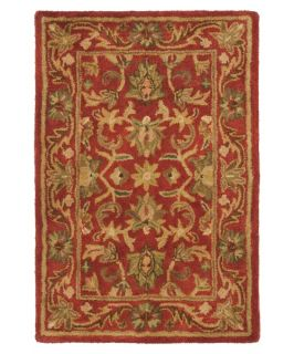 Safavieh Antiquities AT52E Area Rug   Red   Area Rugs