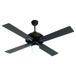 Craftmade SB52FB South Beach 52 in. Indoor / Outdoor Ceiling Fan   Flat Black   Ceiling Fans