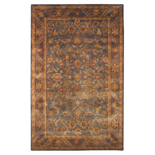 Safavieh Antiquities AT52C Majesty Oriental Rug   Teal   Area Rugs