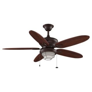 Fanimation Kaya 52 In. Outdoor Ceiling Fanwith Light   Ceiling Fans