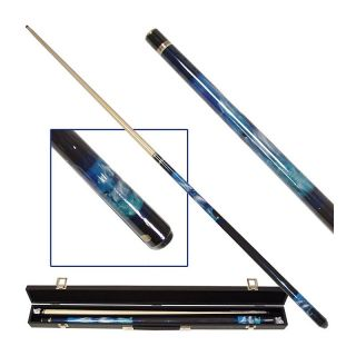 Dolphin Lover Billiard Pool Cue Stick with Case   Pool Cues