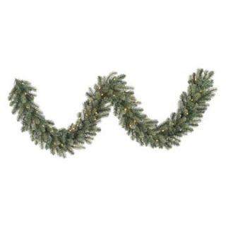 Vickerman 9 ft. LED Colorado Blue Garland   Christmas Garland