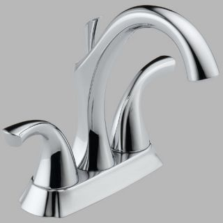 Delta Addison 2592LF Double Handle Centerset Bathroom Sink Faucet   Bathroom Sink Faucets