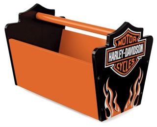 KidKraft Harley Davidson Flames Toy Caddy   Toy Storage