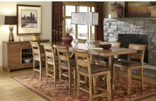 Legacy Logan 9 Piece Counter Height Dining Table Set   Dining Table Sets