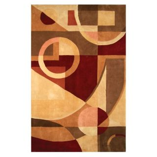 Safavieh Rodeo Drive RD845A Geo Shapes Area Rug   Earth   Area Rugs