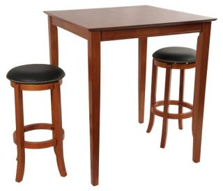 Boraam Square Cordova Pub Table Set   Pub Tables