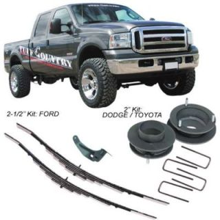 2009 2010 Dodge Ram 1500 Leveling Kit   Tuff Country Suspension, Direct fit, 2 in., Coil spacer(s)