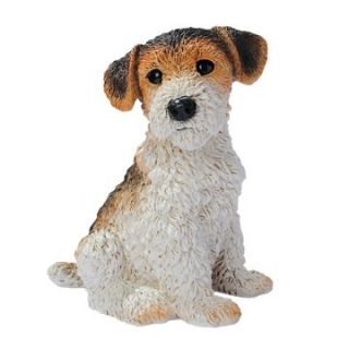 Fox Terrier Puppy Dog Statue   Garden Statues