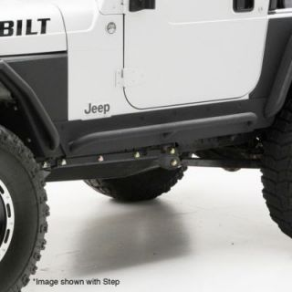 1997 2006 Jeep Wrangler (TJ) Rocker Panel Guards   Smittybilt, Smittybilt XRC Armor