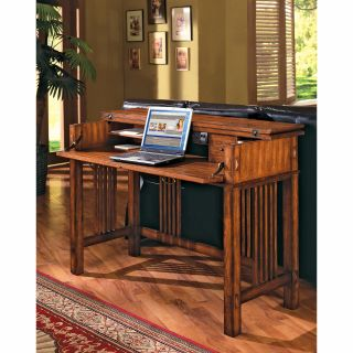 Mission Hills Flip Top Writing/Laptop Desk by Kathy Ireland   Writing Desks