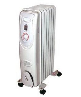 Seasons Comfort 7 Fin Oill Filled Portable Heater   Portable Heaters