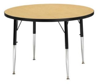 Jonti Craft Ridgeline Round Activity Table   Classroom Tables and Chairs